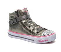 Shuffles Heart & Sole Sneaker in silber