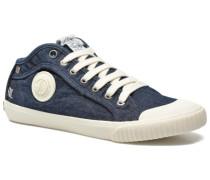 Industry Denim Sneaker in blau