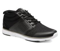 Nassau Mid Sneaker in schwarz
