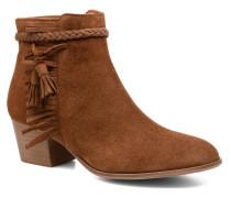 Secret Aras Croute vintage Stiefeletten & Boots in braun