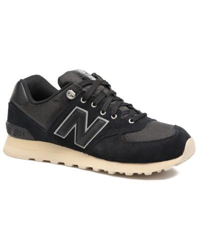 New Balance Herren Ml574 Sneaker in schwarz