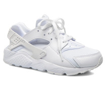 Huarache Run (Ps) Sneaker in weiß