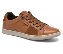 Tulare Pt Toe Cap Low Lace Sneaker in braun