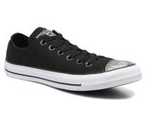 Chuck Taylor All Star Ox Oil Slick Toe Cap W Sneaker in schwarz