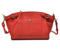 Eclipse Pochette cuir nubucké Handtaschen für Taschen in rot