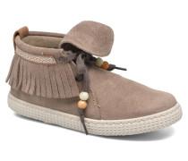 Botin Flecos Serraje Sneaker in grau
