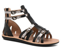Spartiaten Sandalen in schwarz