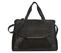 KEMIinPYT Porté main Cuir Handtaschen für Taschen in schwarz