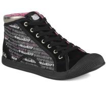 Hk luna mid Sneaker in schwarz