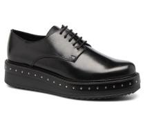 URMA 304 Schnürschuhe in schwarz