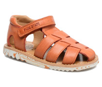 Waff Papy Sandalen in orange