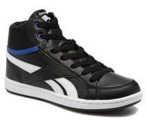 Royal Prime Mid Sneaker in schwarz