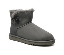 Mini bailey button Stiefeletten & Boots in grau