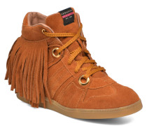 Manhattan Fringed Sneaker in braun