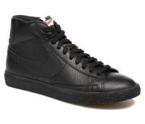 Blazer mid prm Sneaker in schwarz