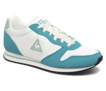 Alice S SuedeinNylon Sneaker in weiß