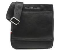 TH City Flat Mini Crossover Herrentaschen für Taschen in schwarz