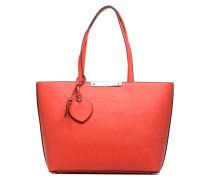 Britta Tote Zippé Handtasche in rot