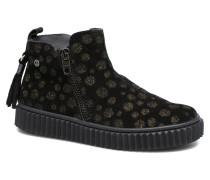 5253 Stiefeletten & Boots in schwarz