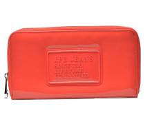 Compagnon Verni Portemonnaies & Clutches für Taschen in rot