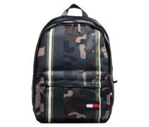 Light Nylon Backpack Camo Rucksack in mehrfarbig