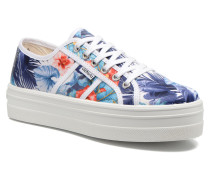 Basket Flores Y Corazones P Sneaker in mehrfarbig