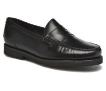 Penny Loafer Slipper in schwarz