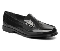 Classic Loafer Penny Slipper in schwarz
