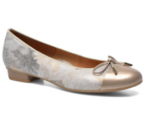 Bari Ballerinas in goldinbronze