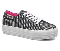 Kiss Low 738 Sneaker in schwarz