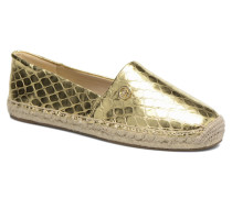 Kendrick slip on Espadrilles in goldinbronze