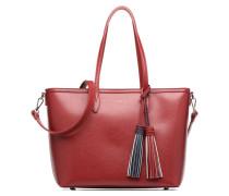 Saffiano Shopper Handtaschen für Taschen in rot