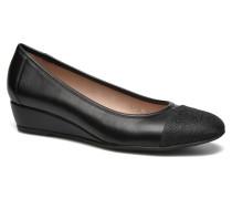 Maggie II 3 Ballerinas in schwarz