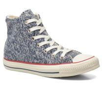 Chuck Taylor All Star Hi Knit W Sneaker in blau