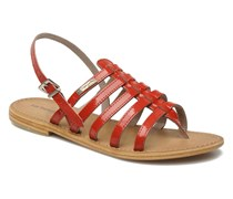 Herisson Sandalen in rot