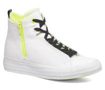 Ctas Selene Shield Canvas Mid Sneaker in weiß
