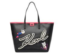 Ski Holiday shopper Handtaschen für Taschen in schwarz