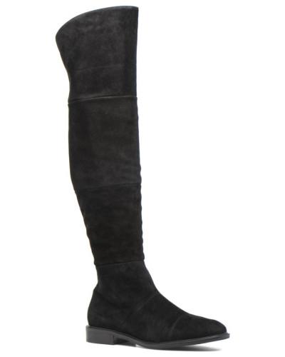 What For Damen Capu Stiefel in schwarz