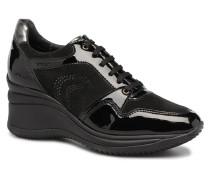 D REGINA B Sneaker in schwarz