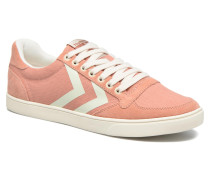 Ten Star Herringbone Low Sneaker in rosa