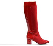 Queens Cross #19 Stiefel in rot
