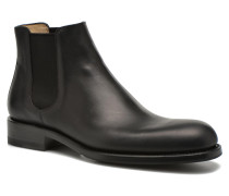Ron Jodpur Piping Stiefeletten & Boots in schwarz