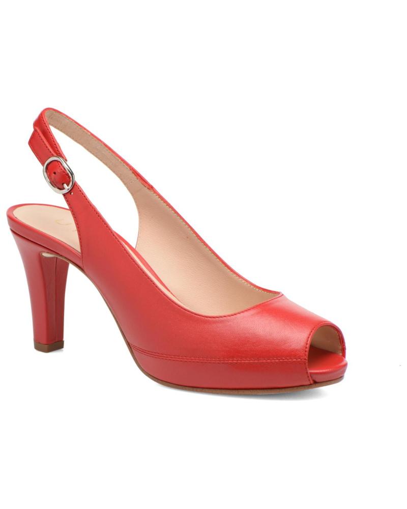 unisa damen unisa nick sandalen f r damen rot reduziert. Black Bedroom Furniture Sets. Home Design Ideas