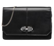 Flore Sac à rabat double porté Handtaschen für Taschen in schwarz