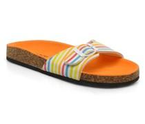Calabre Clogs & Pantoletten in mehrfarbig