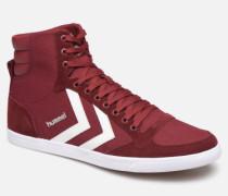 Slimmer Stadil High canvas Sneaker in weinrot