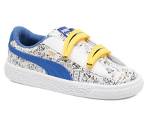 Minions Basket V Inf Sneaker in weiß