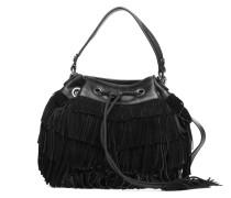 Amandier Handtasche in schwarz
