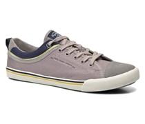 Britt Piping Sneaker in grau