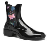 Mid rainy boot Stiefeletten & Boots in schwarz